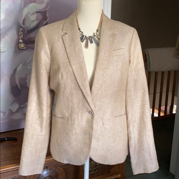 Beautiful Lined J Crew linen blazer